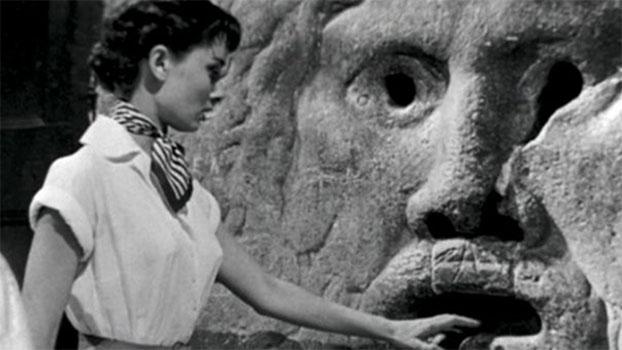 Audrey Hepburn y la Bocca della Verità