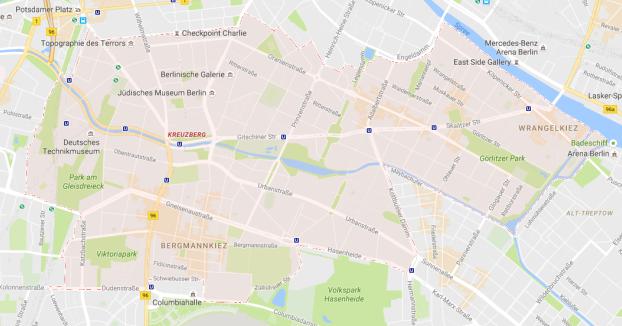 distrito Friedrichshain-Kreuzberg