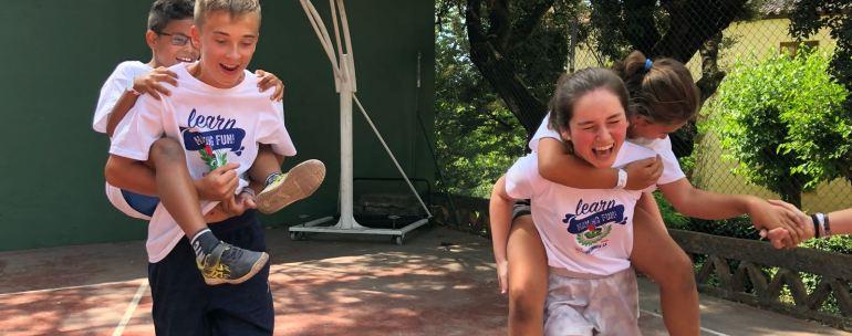 Campamentos de inglés parar niños y jóvenes