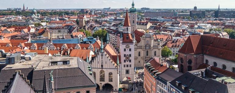 vista aérea de Alemania