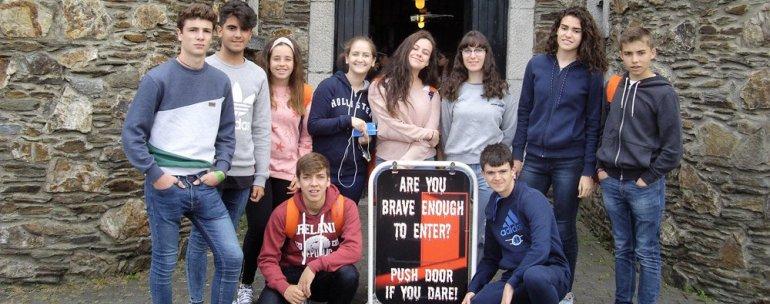 jóvenes en Dublín
