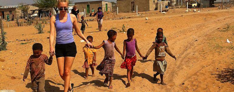 trabajar como voluntario en Sudáfrica